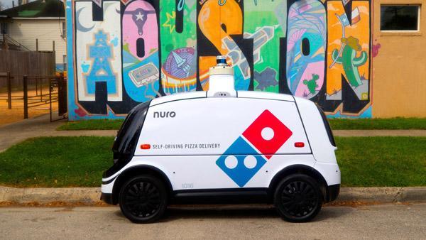 Dominos Pizza Delivery Robot: घर पर पिज्जा डिलीवर कर रहा है यह रोबोट, करता है समय की बचत