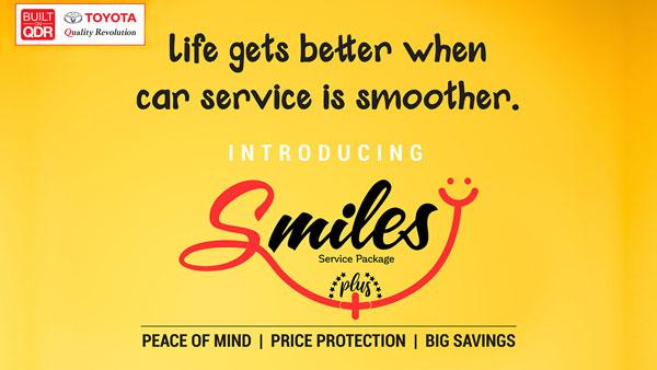 Toyota Smile Plus Service Package: टोयोटा ने स्माइल प्लस प्री पेड सर्विस पैकेज भारत में किया लॉन्च, जानें