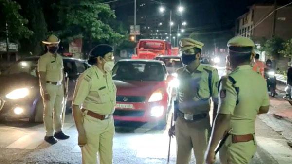68 Vehicle Seized For Violating Night Curfew: पुलिस ने रात्रि कर्फ्यू का उल्लंघन करने पर 68 वाहन किए सीज