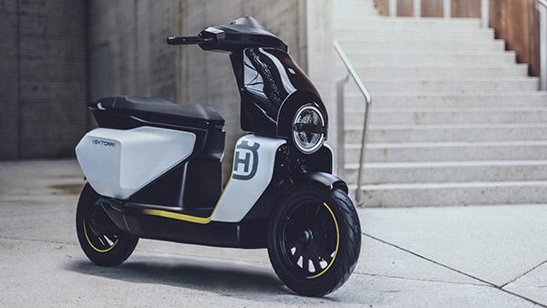 Husqvarna Vektorr Concept Unveiled: हस्कवरना वेक्टर इलेक्ट्रिक स्कूटर कांसेप्ट को किया गया पेश