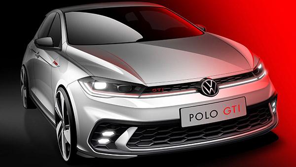 Volkswagen ने अपनी नई Polo GTI का आधिकारिक स्केच किया जारी, जानें क्या हैं डिजाइन अपडेट