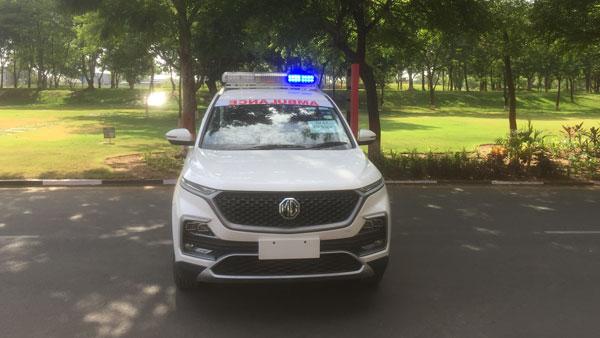 MG Motor व PayTM मिलकर नागपुर में 100 हेक्टर एम्बुलेंस करेगी दान, नितिन गडकरी ने की पहल