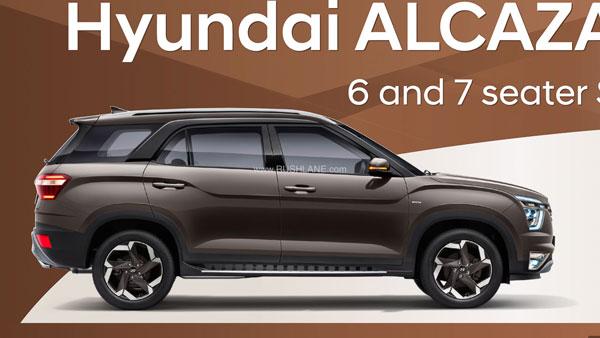 Hyundai Alcazar SUV brochure surfaced, mileage revealed