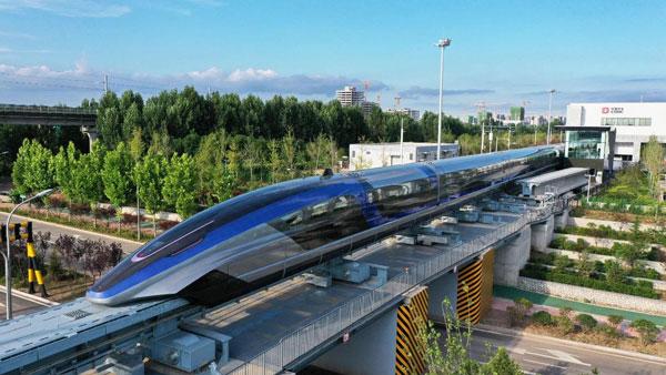 चीन ने बनाई दुनिया की सबसे तेज ट्रेन, 600 किलोमीटर प्रतिघंटा है रफ्तार