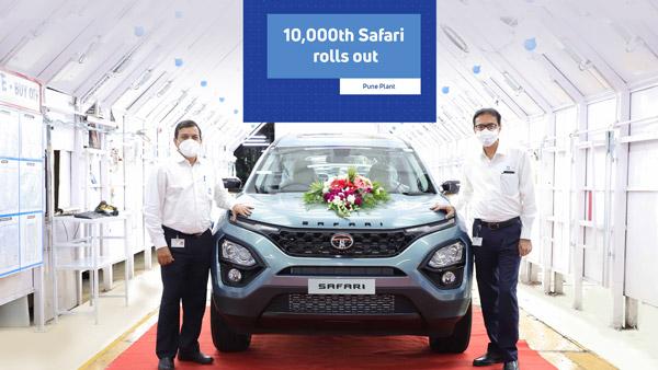 नई-जनरेशन टाटा सफारी के 10,000 यूनिट का उत्पादन हुआ पूरा, सिर्फ चार महीने में बड़ी उपलब्धि