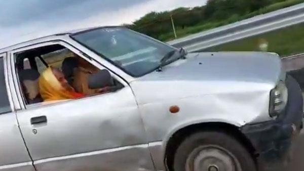 90 साल की बुजुर्ग महिला ने दिखाया अपना ड्राइविंग जौहर, MP के मुख्यमंत्री भी हुए इस महिला के मुरीद