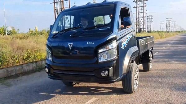 Omega M1KA इलेक्ट्रिक स्मॉल कमर्शियल व्हीकल का हुआ खुलासा, देता है 250 किमी की रेंज
