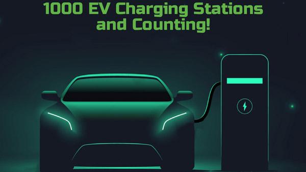 Tata Power ने देशभर में लगाये 1000 ईवी चार्जिंग स्टेशन, जानें कितने का है लक्ष्य