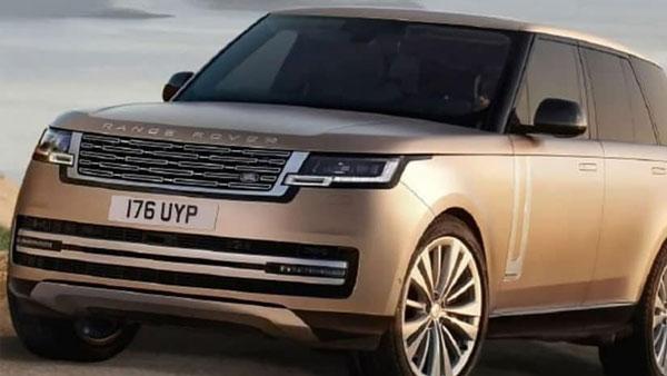 नई जनरेशन Range Rover की तस्वीरें आई सामने, 26 अक्टूबर को किया जाएगा पेश