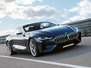 फाइबर डिफ्यूज़र और iDrive कंट्रोलर से लैस होगी BMW 8 सीरीज