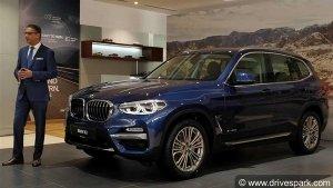 थर्ड जनरेशन 2018 BMW X3 भारत में लॉन्च; जानें कीमत, फीचर्स, स्पेसिफिकेशन और भी बहुत कुछ
