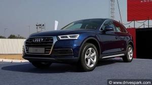 Audi Q5 का पेट्रोल वेरिएंट इसी महिने होगी लॉन्च