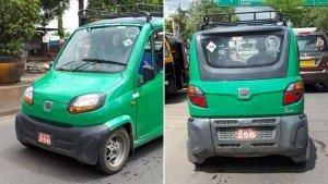 Bajaj Qute CNG वेरिएंट टेस्टिंग के दौरान हुई स्पॉट- मशहूर ऑटो रिक्शा की जगह लेगी