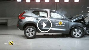 वोल्वो XC40 के क्रैश टेस्ट का रिजल्ट हुआ रीलिज - जानें कितनी सुरक्षित है SUV