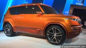 लॉन्च से पहले टेस्टिंग के दौरान स्पॉट हुई हुंडई कारलीनो SUV (स्टिक्स)
