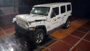 नई जीप रैंग्लर NCAP क्रैश टेस्ट में निकला फिसड्डी; जानिये कितनी रेटिंग मिली
