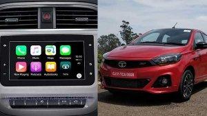 टाटा टियागो व टिगोर में अब लायी गयी एप्पल कार प्ले कनेक्टिविटी की सुविधा