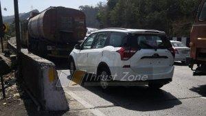 महिंद्रा एक्सयूवी500 बीएस-6 वर्जन टेस्टिंग के दौरान दिखी, होगी पहले से दमदार
