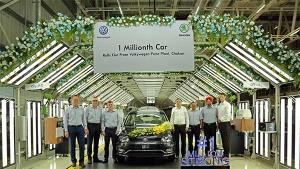 फॉक्सवैगन ने पुणे प्लांट में दस लाख कारों का उत्पादन पूरा किया, यह है वह स्पेशल कार