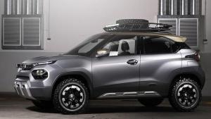 Tata HBX Micro SUV Spied: टाटा एचबीएक्स माइक्रो एसयूवी प्रोडक्शन माॅडल में दिखी, जल्द होगी लाॅन्च