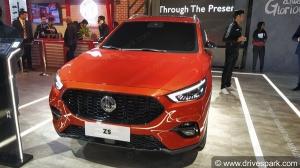 MG ZS Petrol SUV Spied: एमजी जेडएस पेट्रोल टेस्टिंग के दौरान आई नजर, नई जानकारियाँ आई सामने