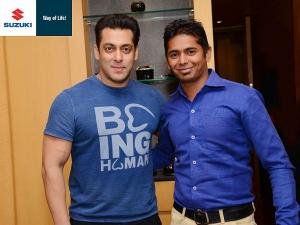 सुज़ुकी इंडिया सलमान खान के साथ किक का एक मौका दे रही है