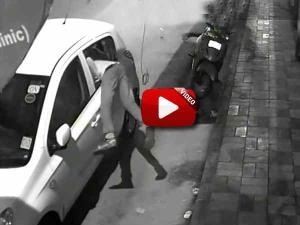 वीडियो - देखिये महज 5 मिनट में बंद कार से कैसे चोरी होता है सामान