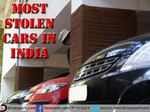 TOP 10 : ये हैं भारत में सबसे ज्यादा चुराई जाने वाली कारें
