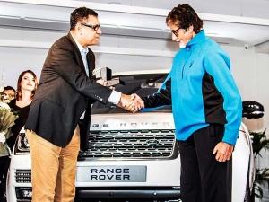 अमिताभ बच्चन ने खरीदी कस्टमाइज्ड कार रेंजरोवर आॅटोबायोग्राफी एलबीडब्ल्यू