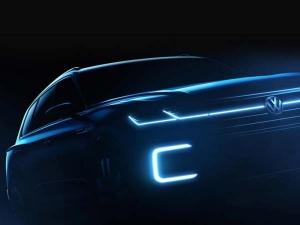 फॉक्सवैगन ने नई हाइब्रिड एसयूवी की दिखाई झलक, बीजिंग मोटर शो में होगी शोकेस