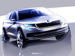 स्कोडा ने जारी किए कोडिएक SUV के स्केच,  कार के प्रॉडक्शन वर्जन में दिखेगी स्कोडा सुपर्ब की झलक