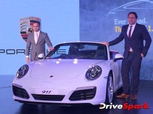 पोर्श की नई अपडेटेड 911 रेंज कारें भारत में हुई लॉन्च, पहले से ज़्यादा हैं पॉवरफुुल और स्टायलिश