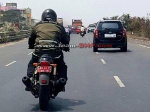 Spy Pics: भारत में पहली बार हुआ Royal Enfield के ट्विन-सिलेंडर वाली बाइक की टेस्टिंग