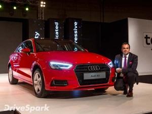 भारत में लॉन्च हुई 2017 Audi A3, कीमत 30 लाख से शुरू