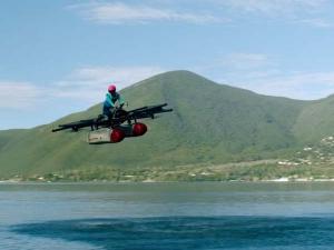 वीडियोः Google की फाउंडर ने भरी पहली फ्लाइंग कार 'किट्टी हॉक' से उड़ान
