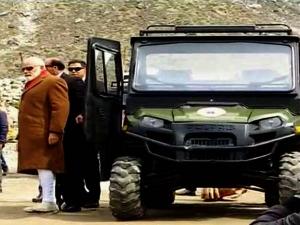 पहाड़ी क्षेत्रों की Boss है यह खास गाड़ी, PM मोदी ने की केदारनाथ यात्रा