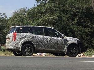 टेस्टिंग के दौरान स्पाई पिक्स में नजर आई महिन्द्रा एक्सयूवी500 फेसलिफ्ट