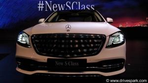 बहुप्रतीक्षित मर्सिडीज बैंज S-क्लास फेसलिफ्ट 2018 भारत में लॉन्च - जानें कीमत, स्पेसिफिकेशन, फीचर्स