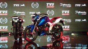 2018 टीवीएस अपाचे आरटीआर 160 4V भारत में लॉन्च; जाने कीमत