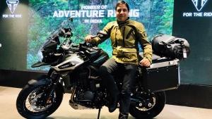 17 लाख रुपए की कीमत वाली सुपर एडवेंचरस बाइक भारत में लॉन्च - देखें एक नजर