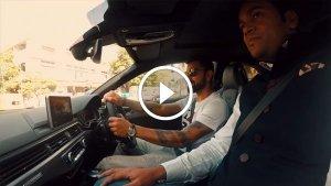 बैंगलोर की सड़कों पर ऑडी RS5 स्पोर्ट्स कूपे दौड़ाते नजर आए विराट कोहली - देखें विडियो