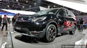 नई होंडा CR-V के लॉन्च डिटेल्स लीक
