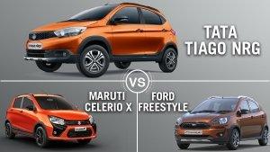 टाटा टिएगो एनआरजी, मारुति सेलेरियो एक्स और फोर्ड फ्रीस्टाइल: कौन है सबसे बेहतर?