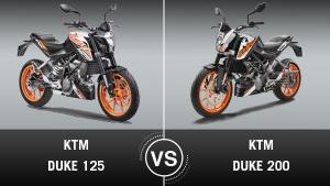 केटीएम ड्यूक 125 बनाम ड्यूक 200: जानिए दोनों में क्या है फर्क?