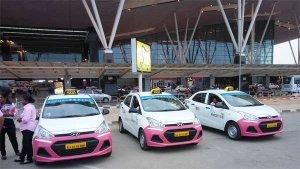 केवल महिलाएं: बेंगलुरु एयरपोर्ट पर शुरू हुई नई टैक्सी सर्विस