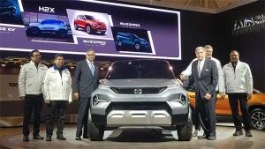 जिनेवा मोटर शो 2019 में टाटा H2X माइक्रो एसयूवी कांसेप्ट पेश किया गया