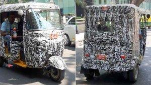 बजाज इलेक्ट्रिक ऑटो रिक्शा की सामने आयी तस्वीरें, देखे क्या होगा नया