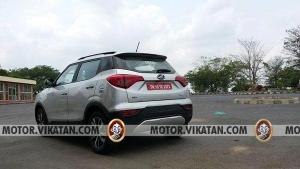 महिंद्रा XUV300 आएगा नए BS-VI इंजन के साथ, टेस्टिंग के दौरान देखा गया