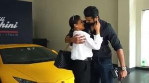 पति ने पत्नी को गिफ्ट की लेम्बोर्गिनी हरकैन सुपरकार, 3.7 करोड़ है कीमत