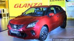 टोयोटा ग्लैंजा भारत में हुई लॉन्च, कीमत 7.22 लाख रुपयें